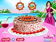Barbie coconut cake deco online