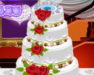 Big fat wedding cake deco online